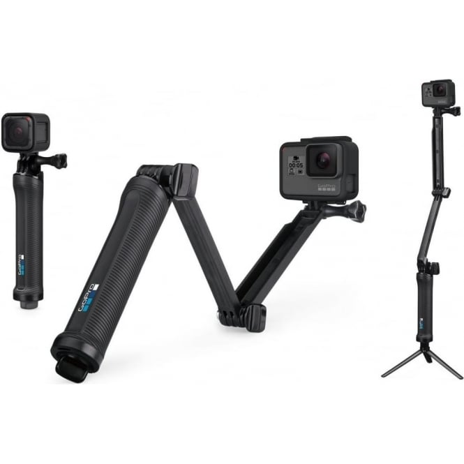 Go Pro 3 Way Mount Tripod for Go Pro Action Camera