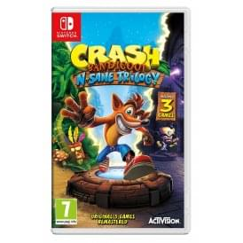 Crash Bandicoot Trilogy - Nintendo Switch