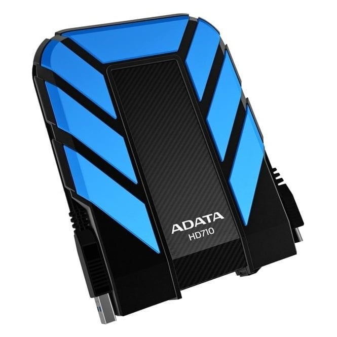 ADATA DashDrive 1TB HD710 Military-Spec USB 3.0 External Hard Drive AHD710-1TU3-CBL Blue