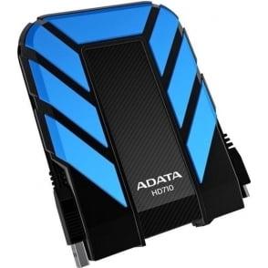 ADATA DashDrive 1TB HD710 Military-Spec USB 3.0 External Hard Drive AHD710-1TU3-CBL Blue