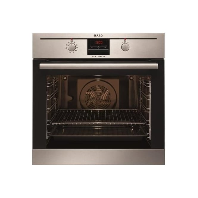AEG BP300302KM Electric Single Oven, Stainless Steel