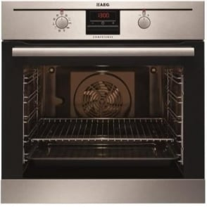 BP300302KM Electric Single Oven, Stainless Steel
