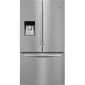 French Door Side by Side A+ Fridge Freezer, Silver