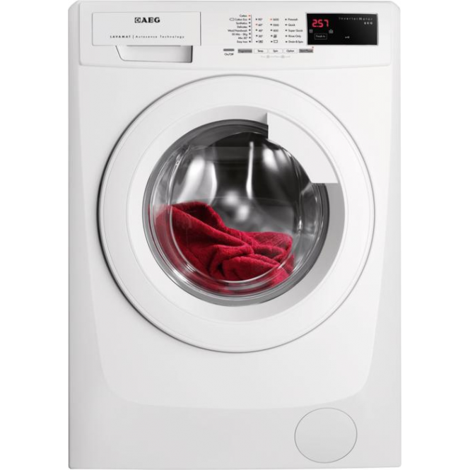 AEG L69680FL 8kg, 1600rpm, A+++ Freestanding Washing Machine