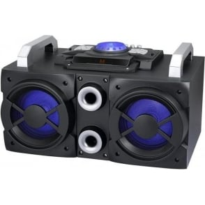 A50000 200 W Ultimate Party Speaker with Built-In Disco Lights