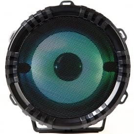 A58060 Portable Wireless Bluetooth Karaoke Light-Up Speaker, Black