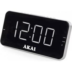 A61019 AM/FM Jumbo Alarm Clock Radio with 1.8-Inch LED Display