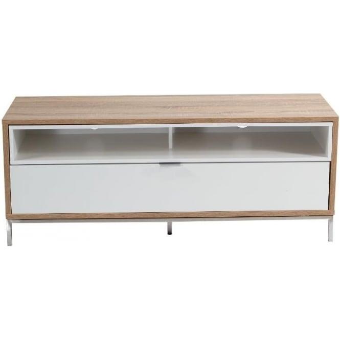 Alphason ADCH1135WHT Chaplin TV Cabinet, White