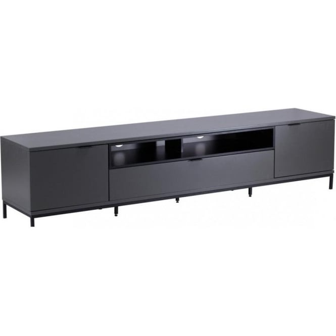 Alphason ADCH2000CH Chaplin Charcoal TV Stand