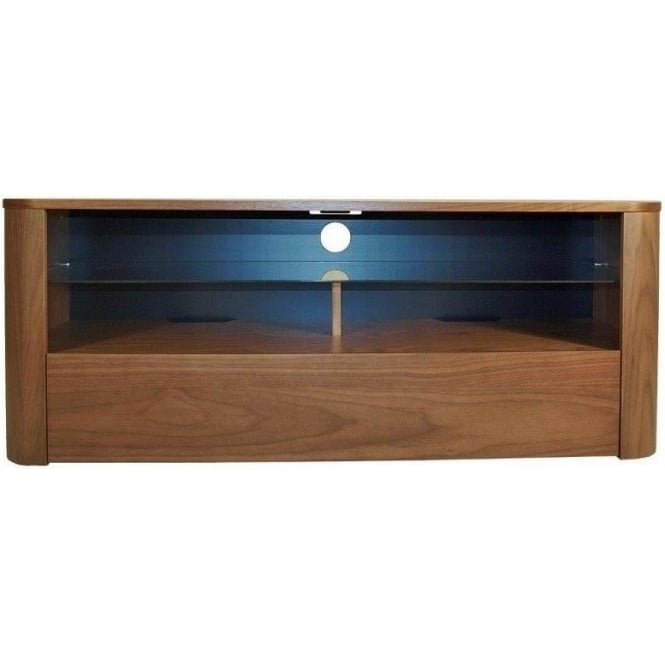 Alphason ADH1260WAL Hugo Walnut TV Stand