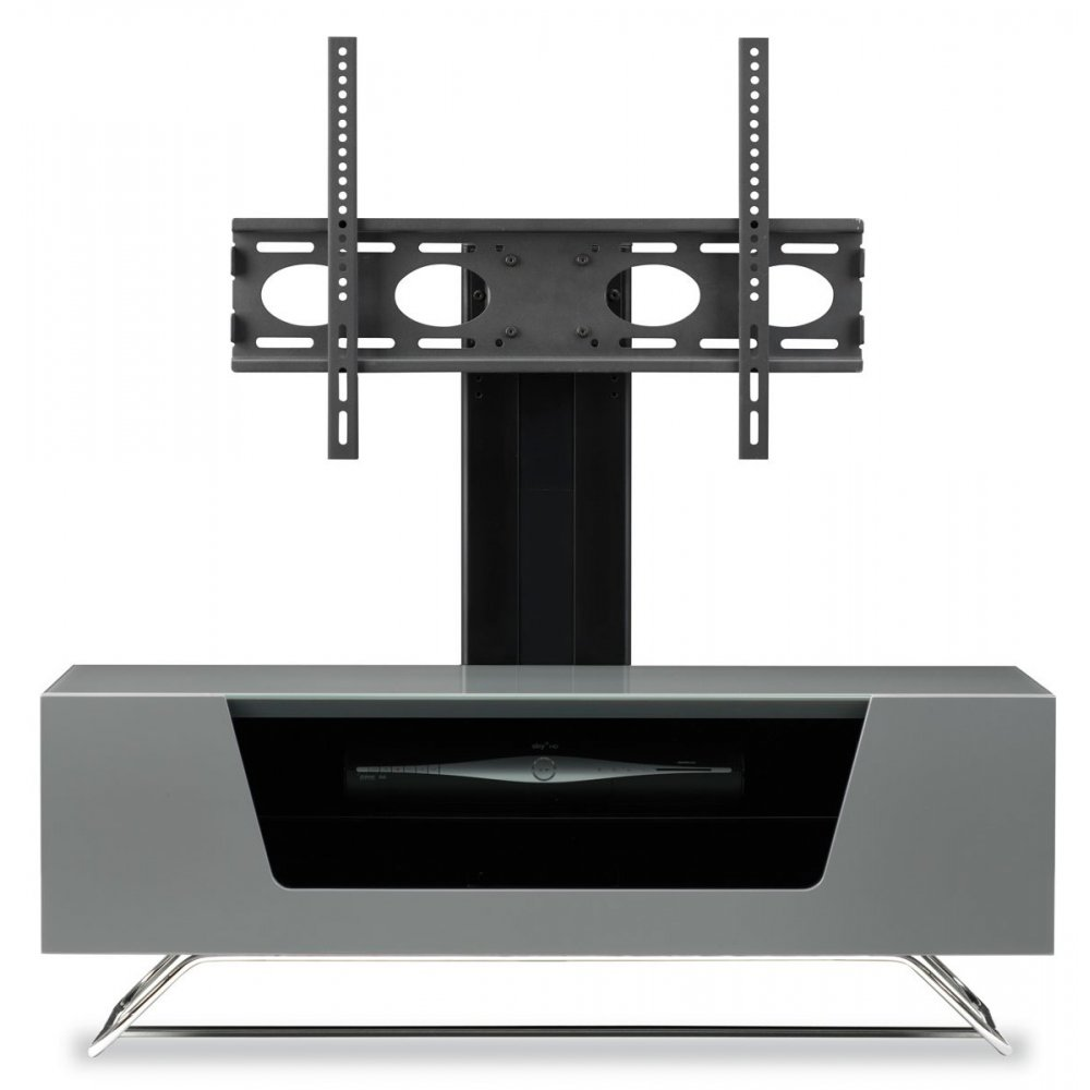 Alphason Alphason Chromium Grey Cantilever Tv Stand
