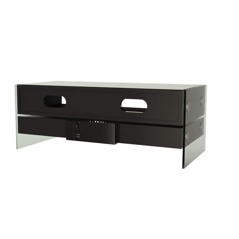 Expo Tv Stands : Alphason evt blk black event tv stand with