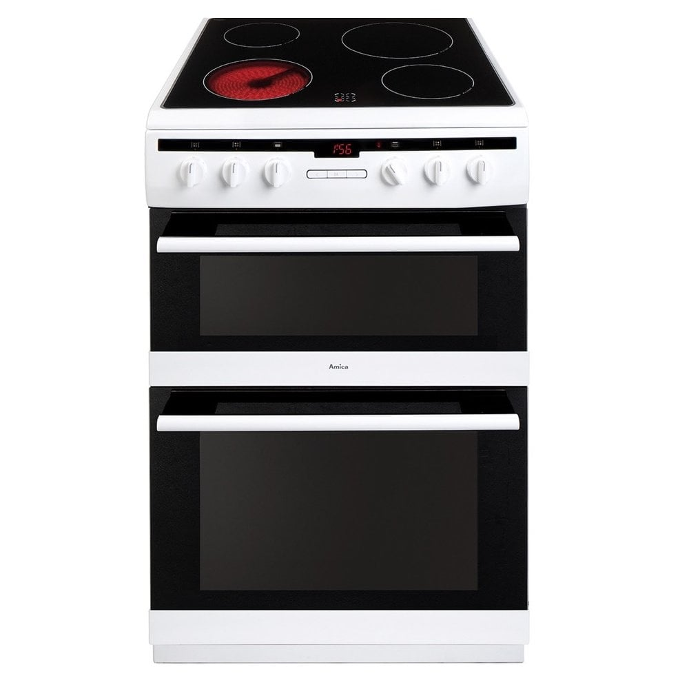 Amica Afc6550wh Electric Cooker White