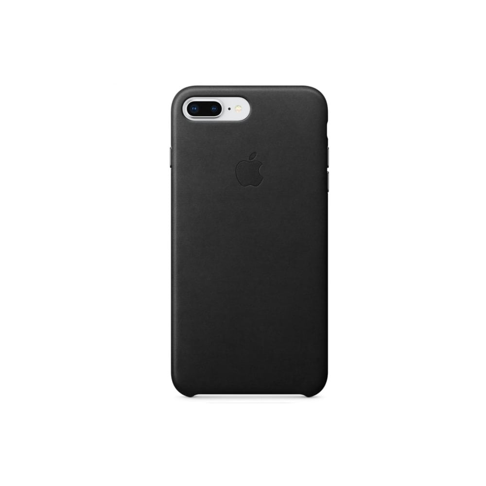 online store 68168 81e5a Apple iPhone 8 Plus / 7 Plus Leather Case Cover, Black
