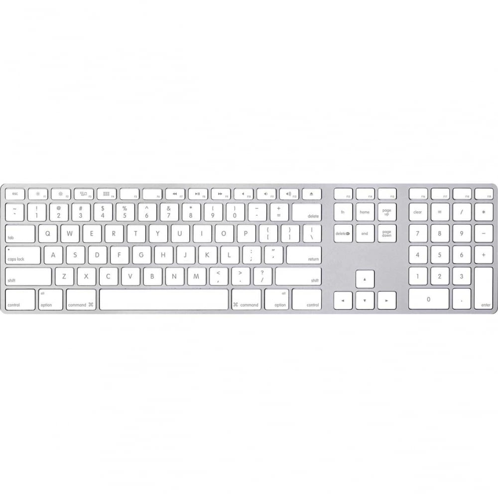 624eea5143a Apple Magic Keyboard with Numeric Keypad, Silver/White - Computing ...