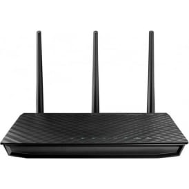 Asus RT-N66U Dual-Band Wireless-N900 Gigabit Router - Fibre Optic Cables Only