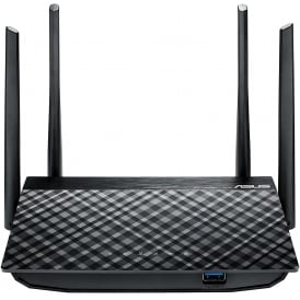 Dual-Band 4 x Gigabit AC1300 Wireless Router, Black