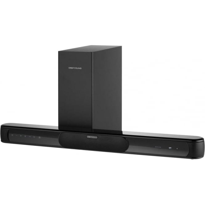 in home bar orbitsound bar a70 soundbar with wireless subwoofer 12300