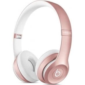 MLLG2ZM/A Solo2 Wireless On-Ear Headphones, Rose Gold