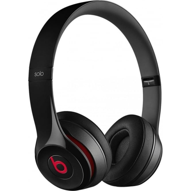 Beats Solo 2 Over Ear Headphones, Black