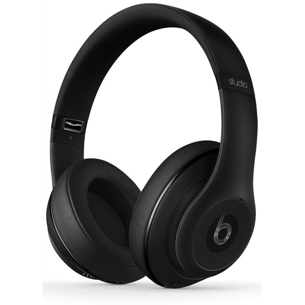 beats studio wireless over ear headphones matte black. Black Bedroom Furniture Sets. Home Design Ideas