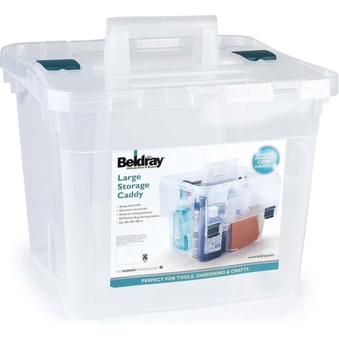 BELDRAY Large Caddy & Lid