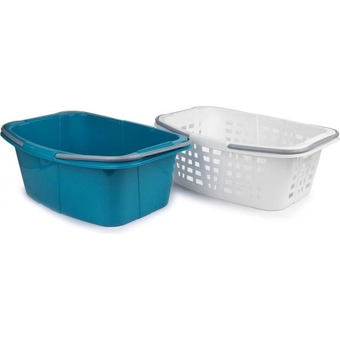 BELDRAY Set of 2 26L Laundry Baskets