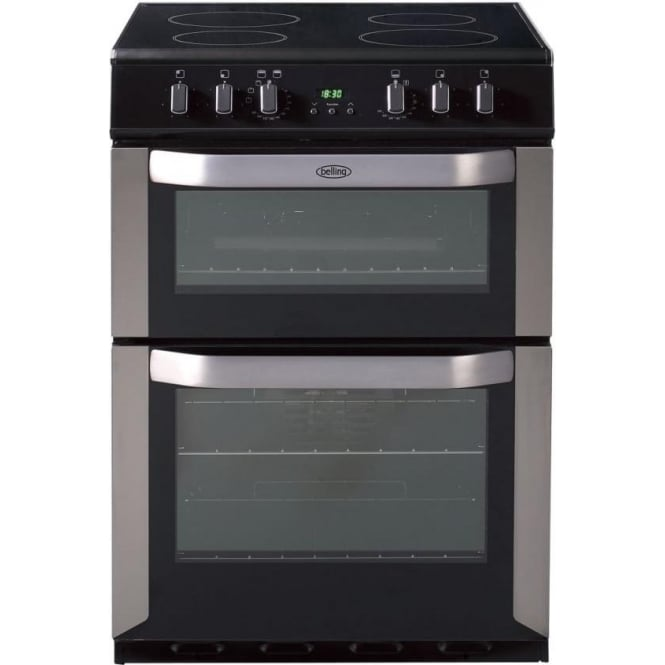 Belling 60cm Cooker, Stainless Steel