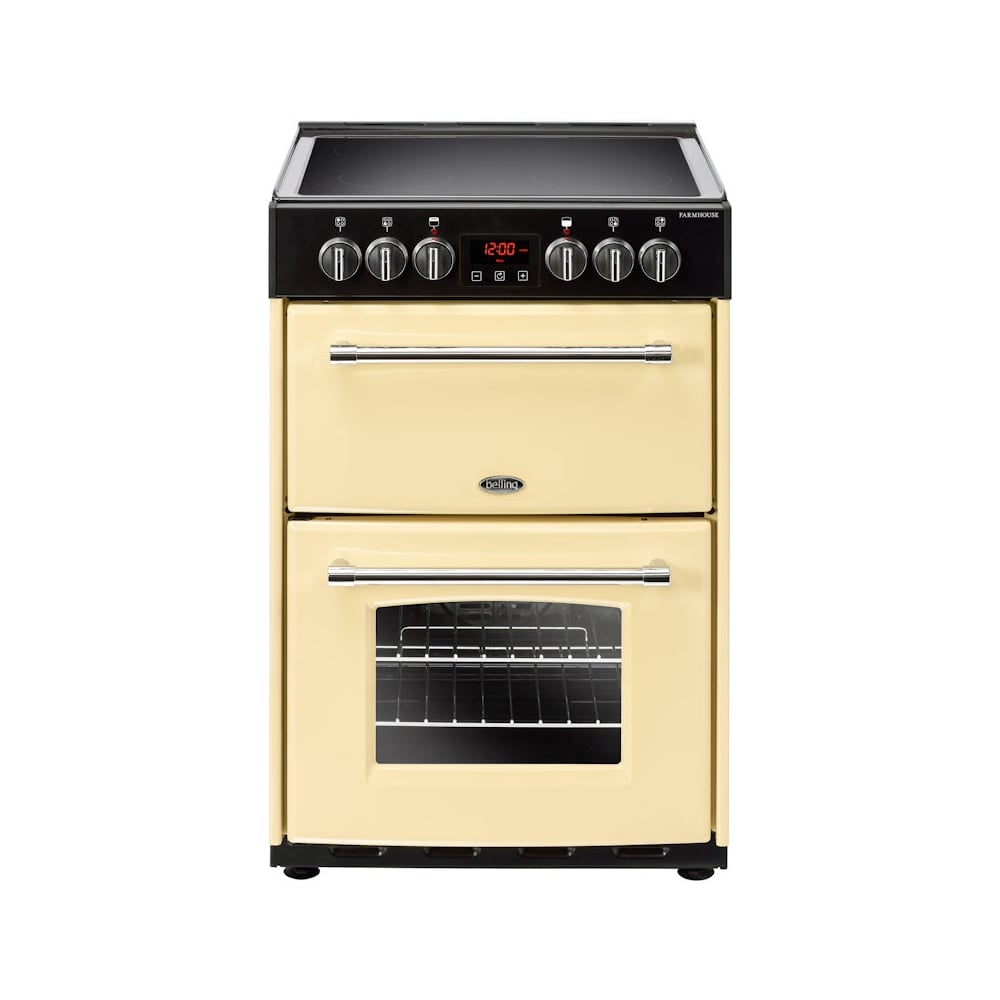 belling freestanding 60cm farmhouse electric cooker with. Black Bedroom Furniture Sets. Home Design Ideas