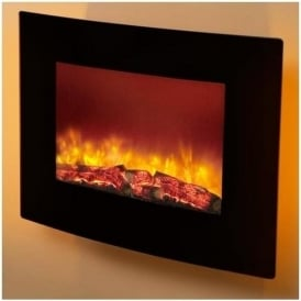 "25"" Quattro Curved Electric Fire"