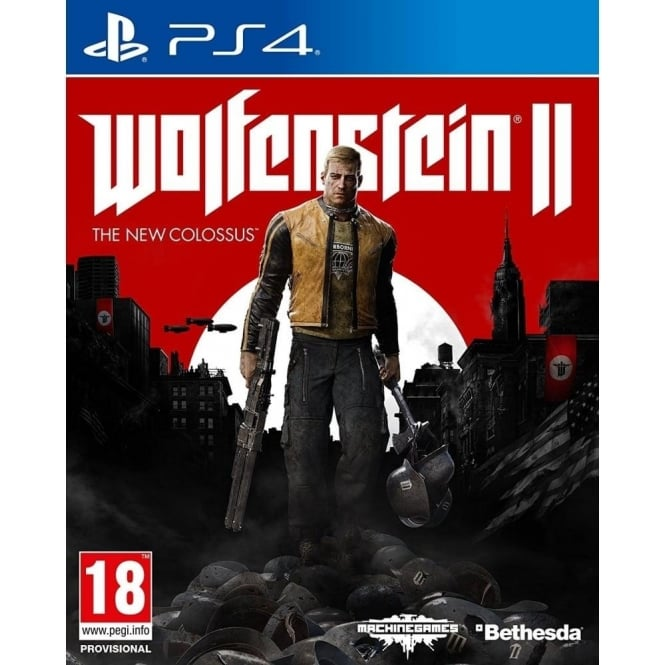 Bethesda Wolfenstein II: The New Colossus PS4