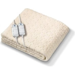 UE7962 Komfort Fitted Double Dual Control Heated Mattress Cover