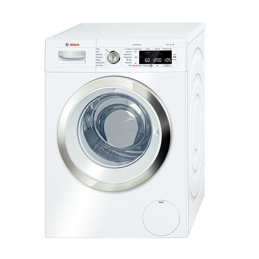 bosch 8 logixx waw32560gb 9kg 1600rpm a washing machine white bosch from uk