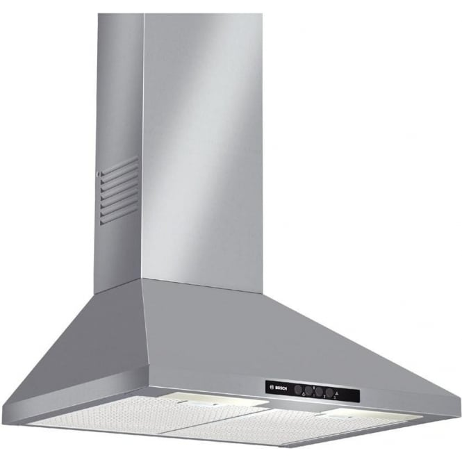 Bosch DWW06W450B 60cm Chimney Extractor Hood, Stainless Steel
