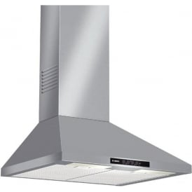 DWW06W450B 60cm Chimney Extractor Hood, Stainless Steel