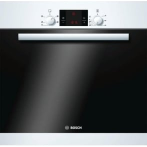 HBA13B120B Built-in Single 3D Hot Air Oven, White