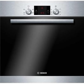 HBA13B150B Classixx 3D Hot Air Electric Built-in/under Single Oven, Brushed Steel