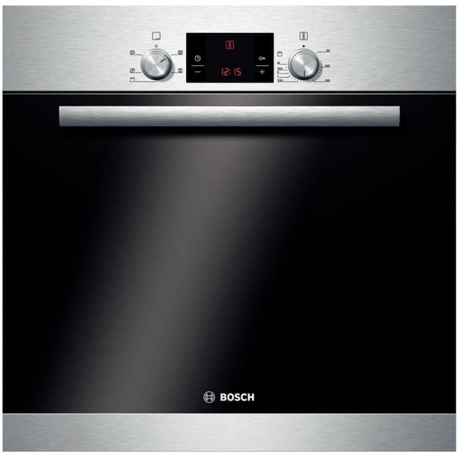 Bosch HBA13R150B Electric Single Oven, Brushed Steel