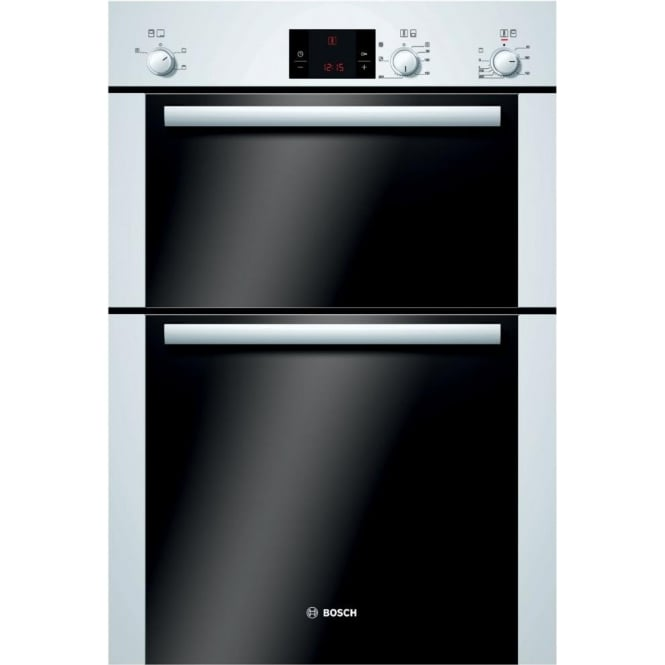 Bosch HBM13B221B Electric Built In Double Oven, White