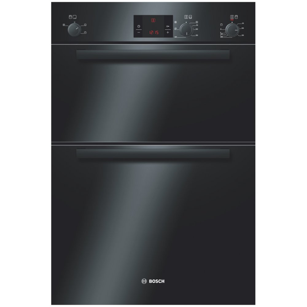 Hbm13b261b Electric Built In Double Oven Black