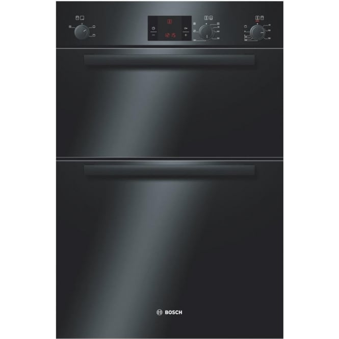 Bosch HBM13B261B Electric Built In Double Oven, Black