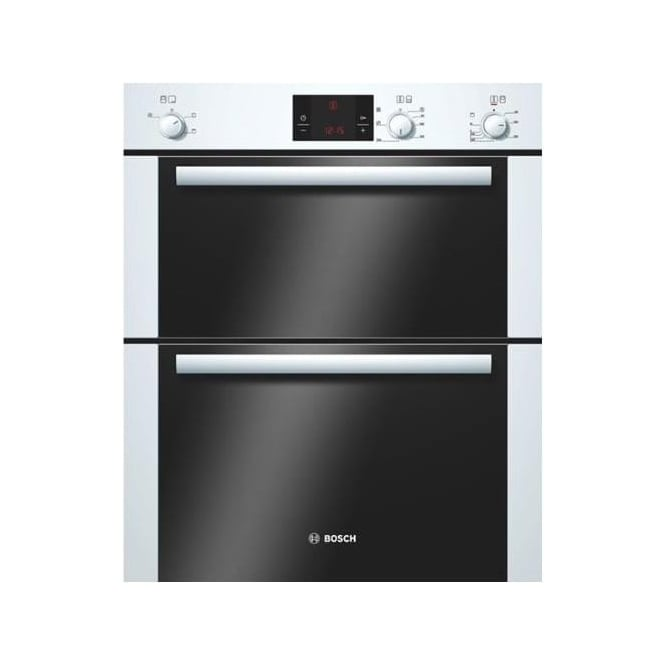 Bosch HBN13B221B Electric Built Under Double Oven, White