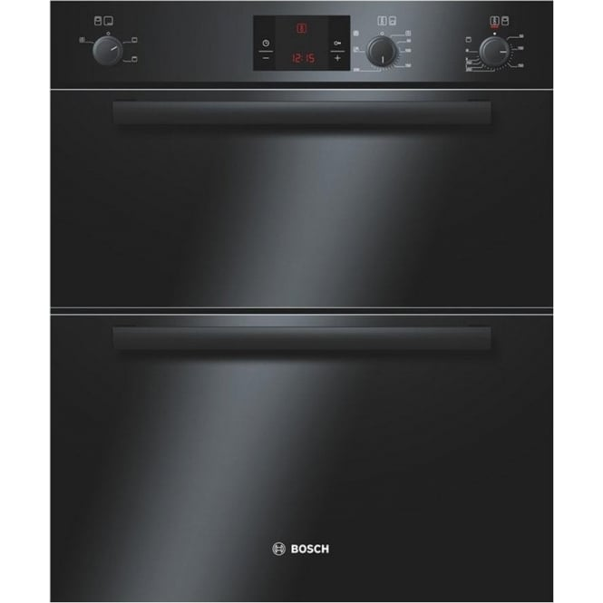 Bosch HBN13B261B Electric Built Under Double Oven, Black