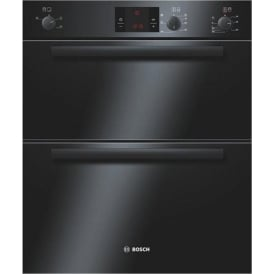 HBN13B261B Electric Built Under Double Oven, Black