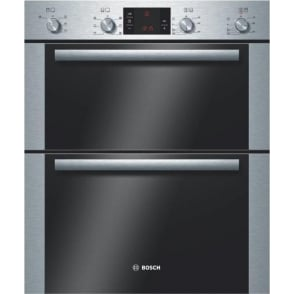 HBN43B250B Electric Built Under Double Oven, Brushed Steel