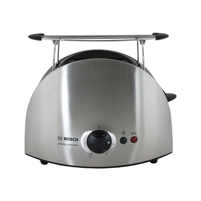Bosch Private Collection 2 Slice Toaster, Stainless Steel