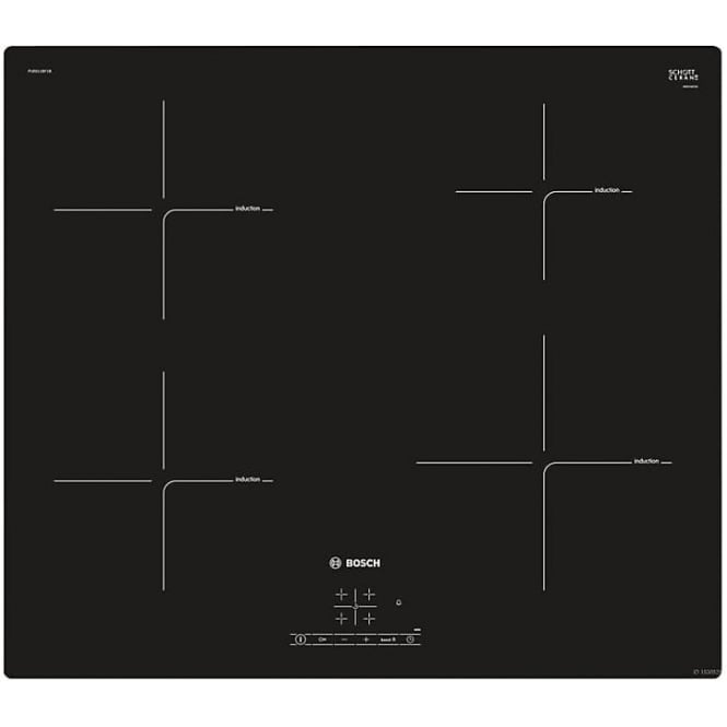 Bosch Serie 4 PUE611BF1B Electric Induction Hob, Black