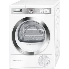Series 8 Home Connect, 9kg A++ Heat Pump Condenser Dryer