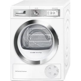 Series 8 Home Connect, 9kg A++ Heat Pump Condenser Dryer