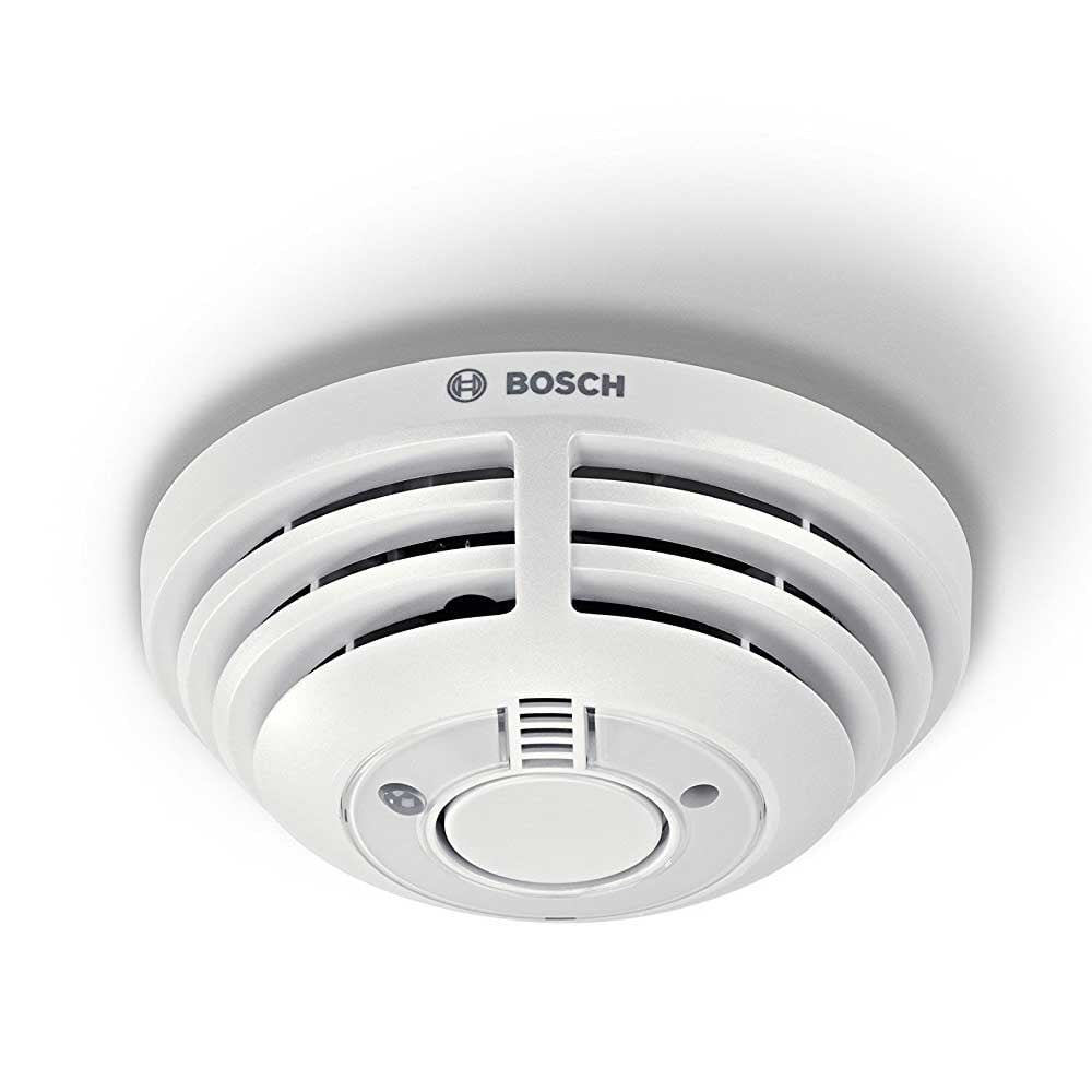bosch smart home smoke detector, white - computing & phones from